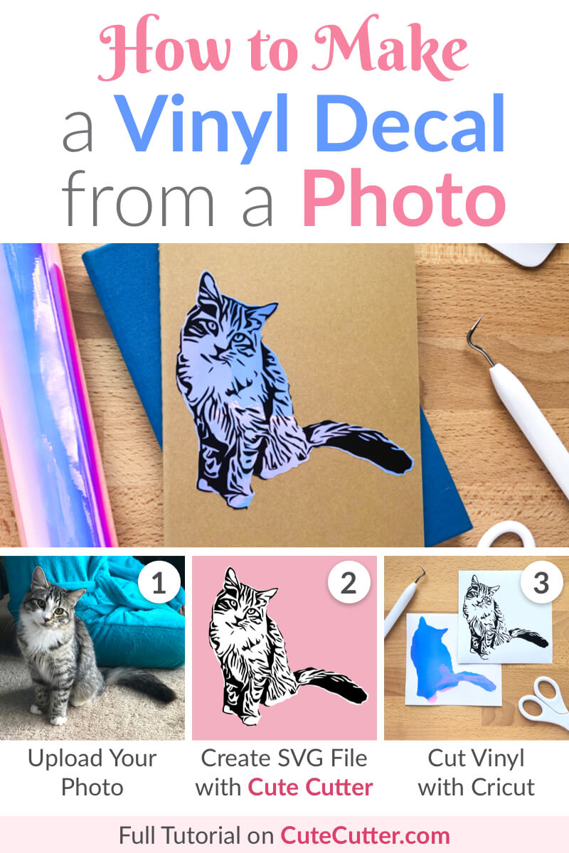 How to Make a Vinyl Decal from a Photo